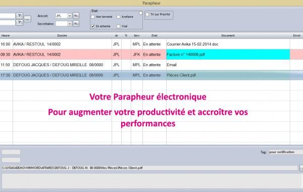 Parapheur